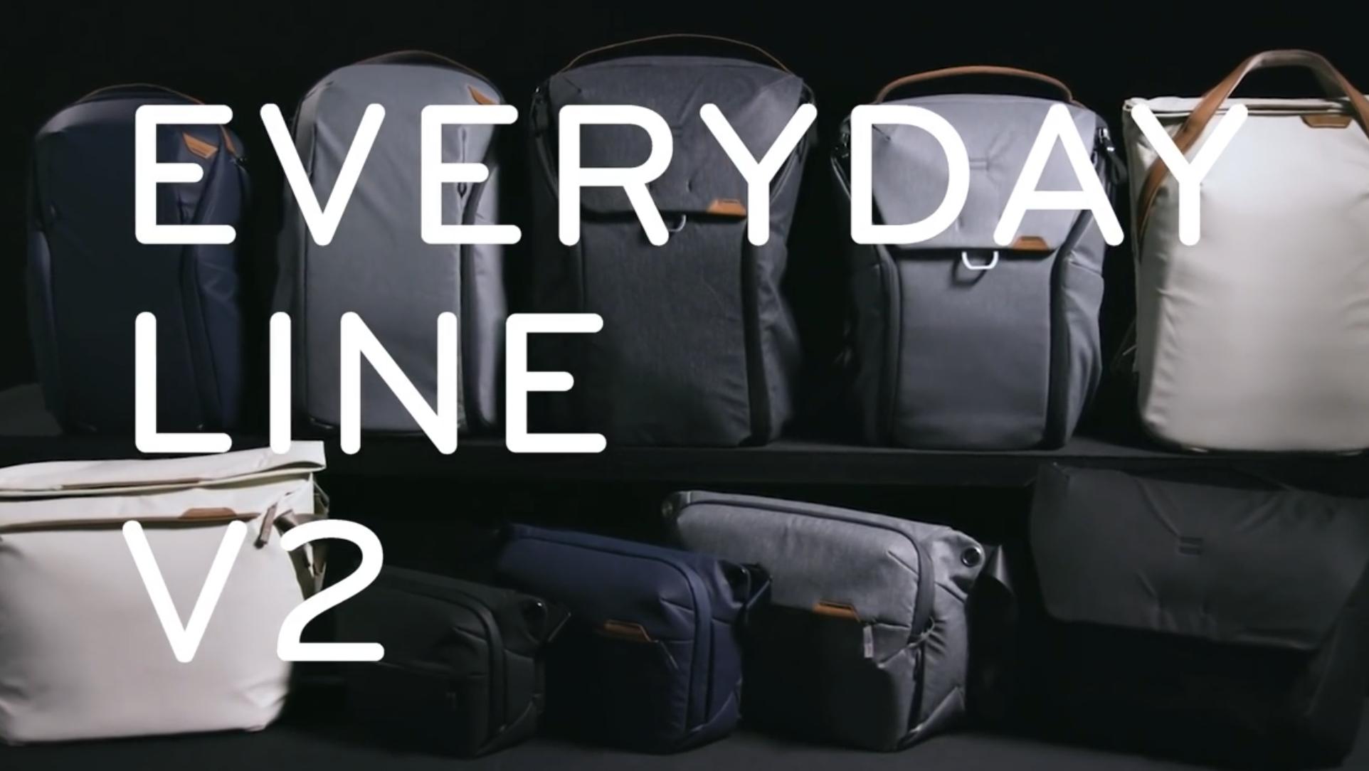 【購入!】Peak Designの新製品 Everyday(エブリデイ)シリーズがリニューアル 買ったモデルはどれ?