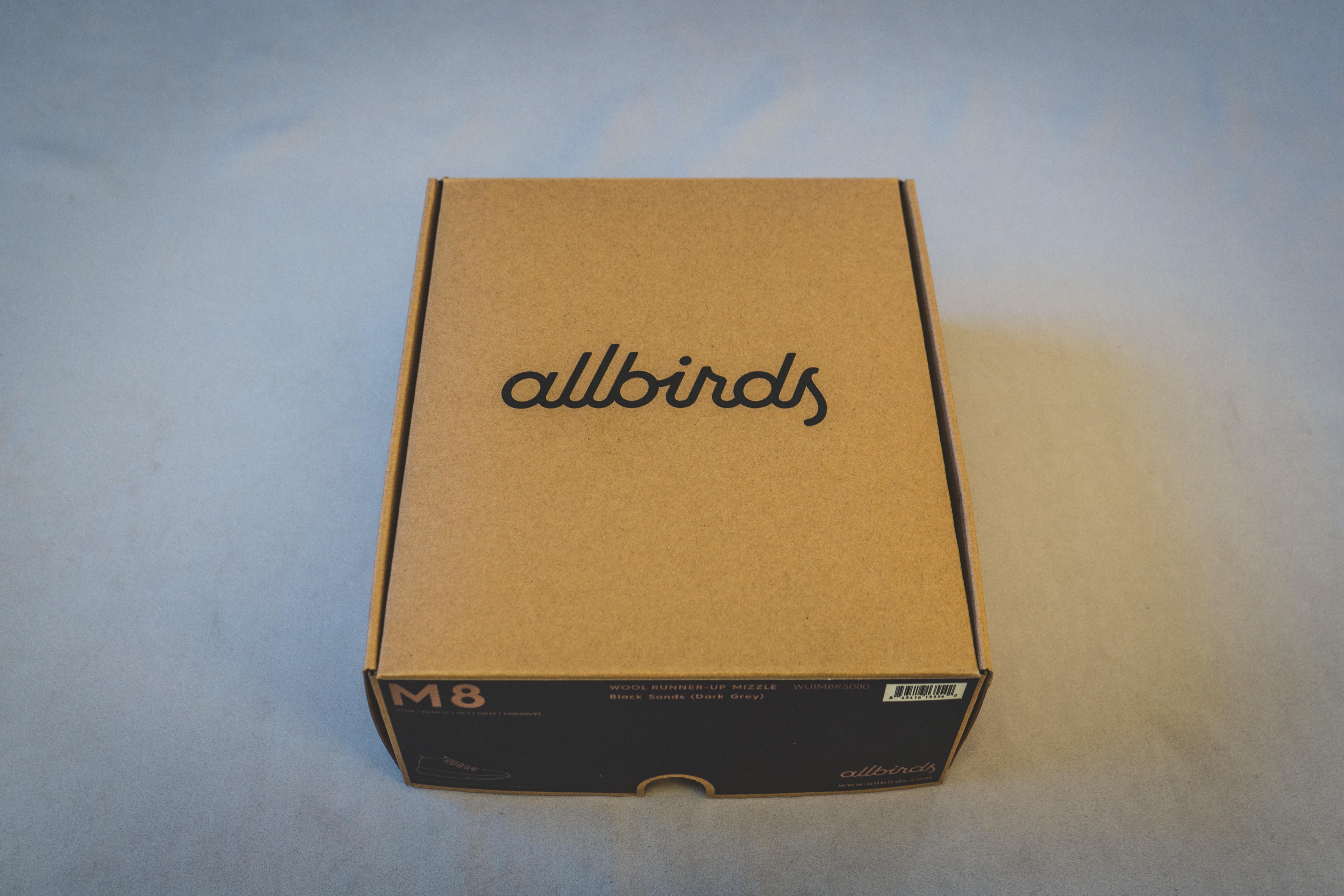 Allbirds(オールバーズ)梱包