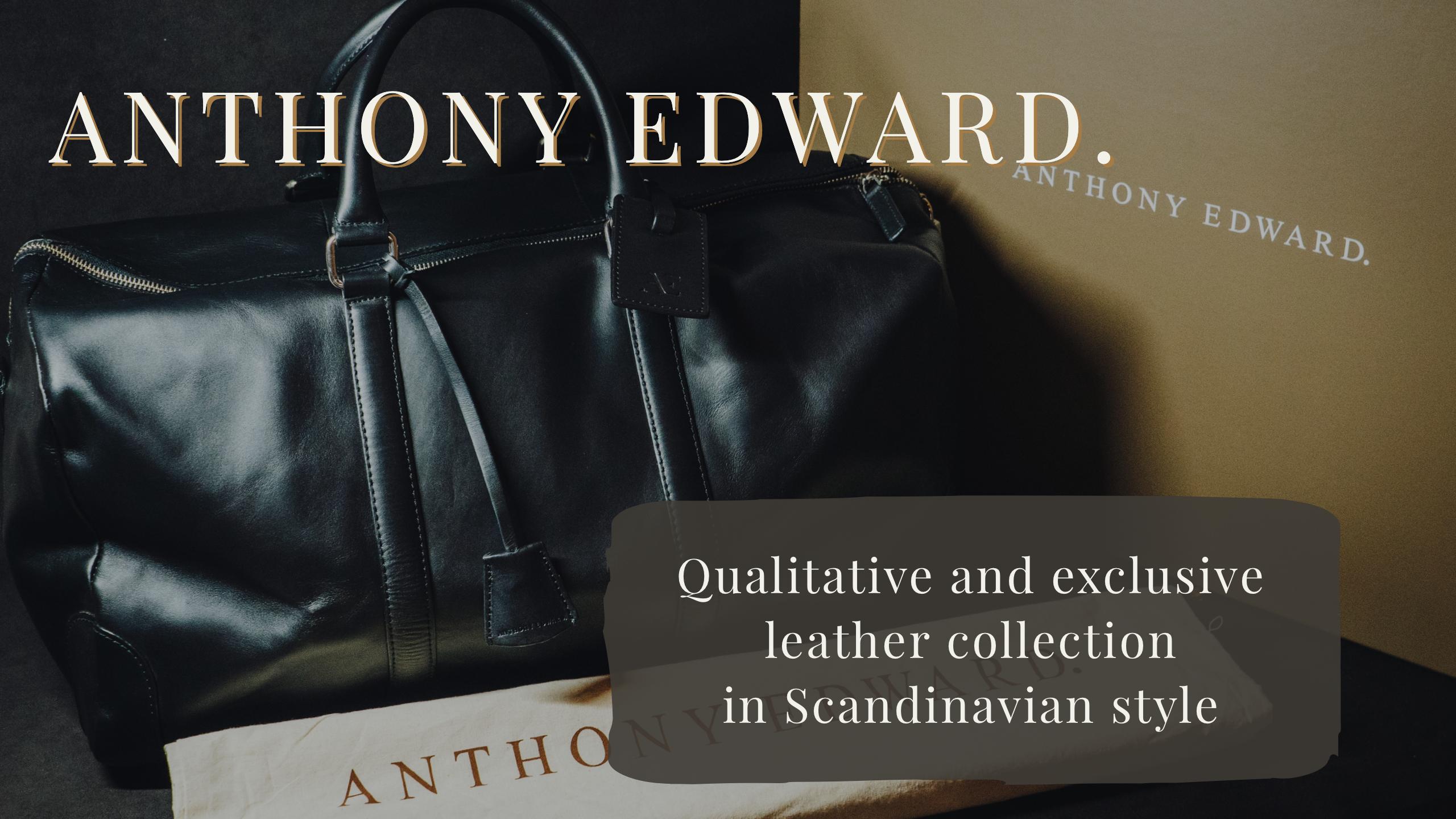 スウェーデンのレザーブランド ANTHONY EDWARDのダッフルバッグをレビュー!【国内未上陸】