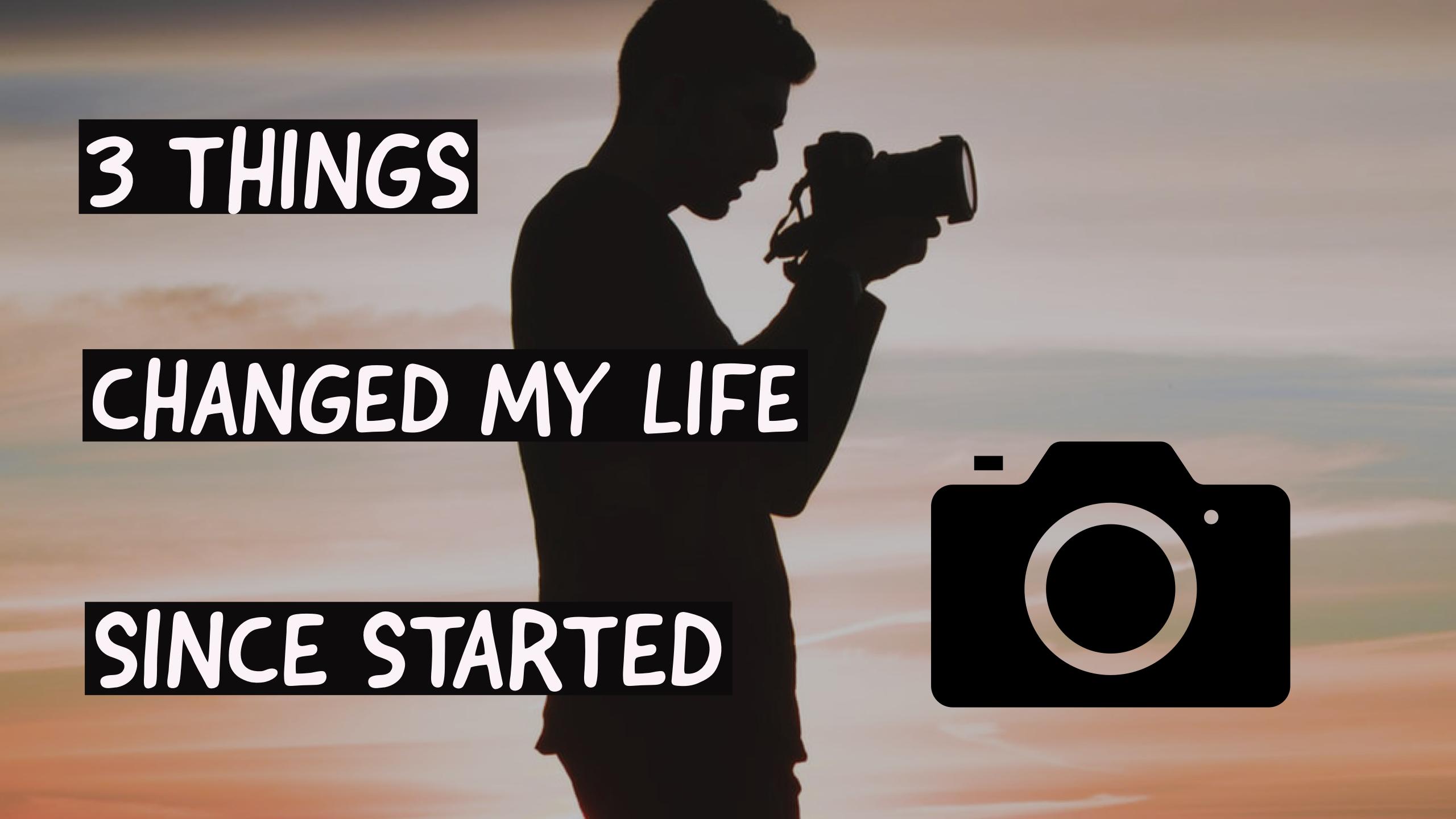社会人(男)がカメラを始めて人生が変わった3つのこと【きっかけや費用も!】