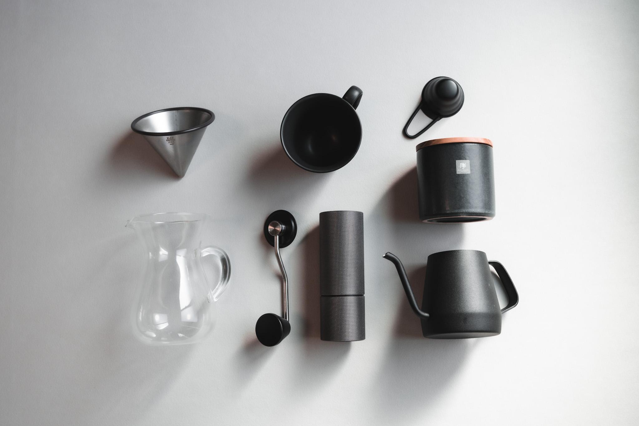 コーヒー初心者が最初に揃えたこだわりの厳選ミニマル器具たち