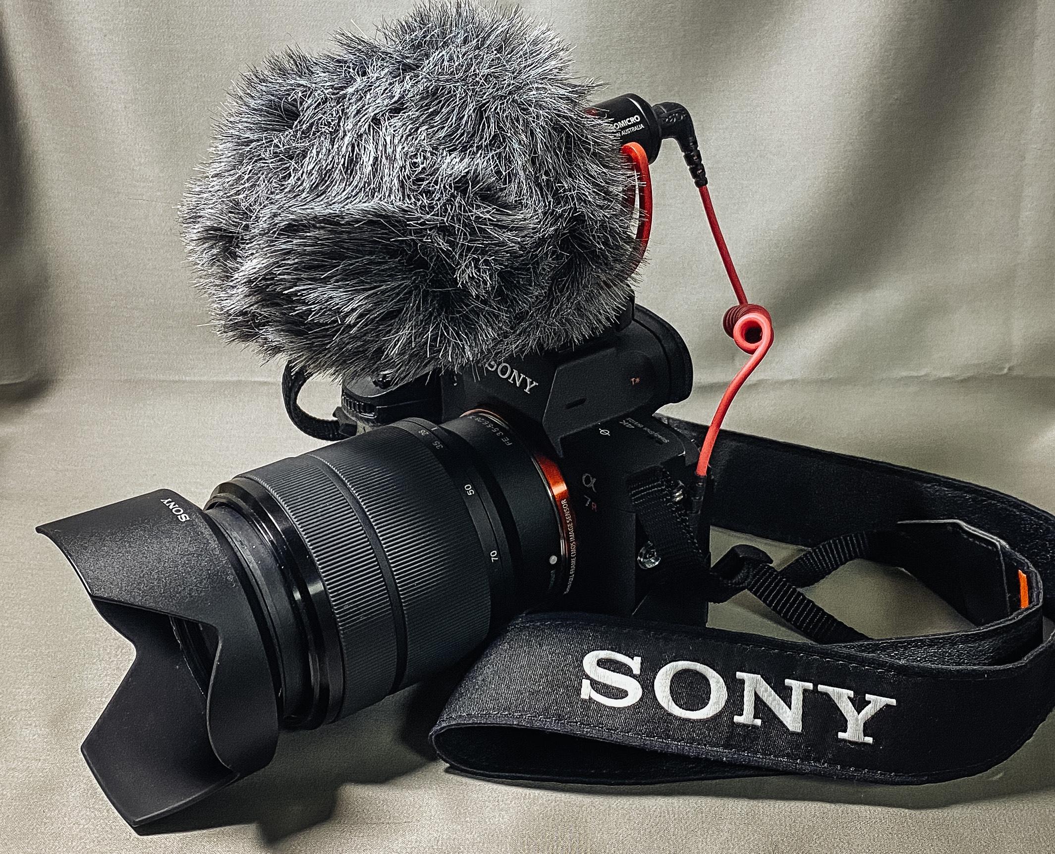SONY α7ⅢとRODE VideoMcro