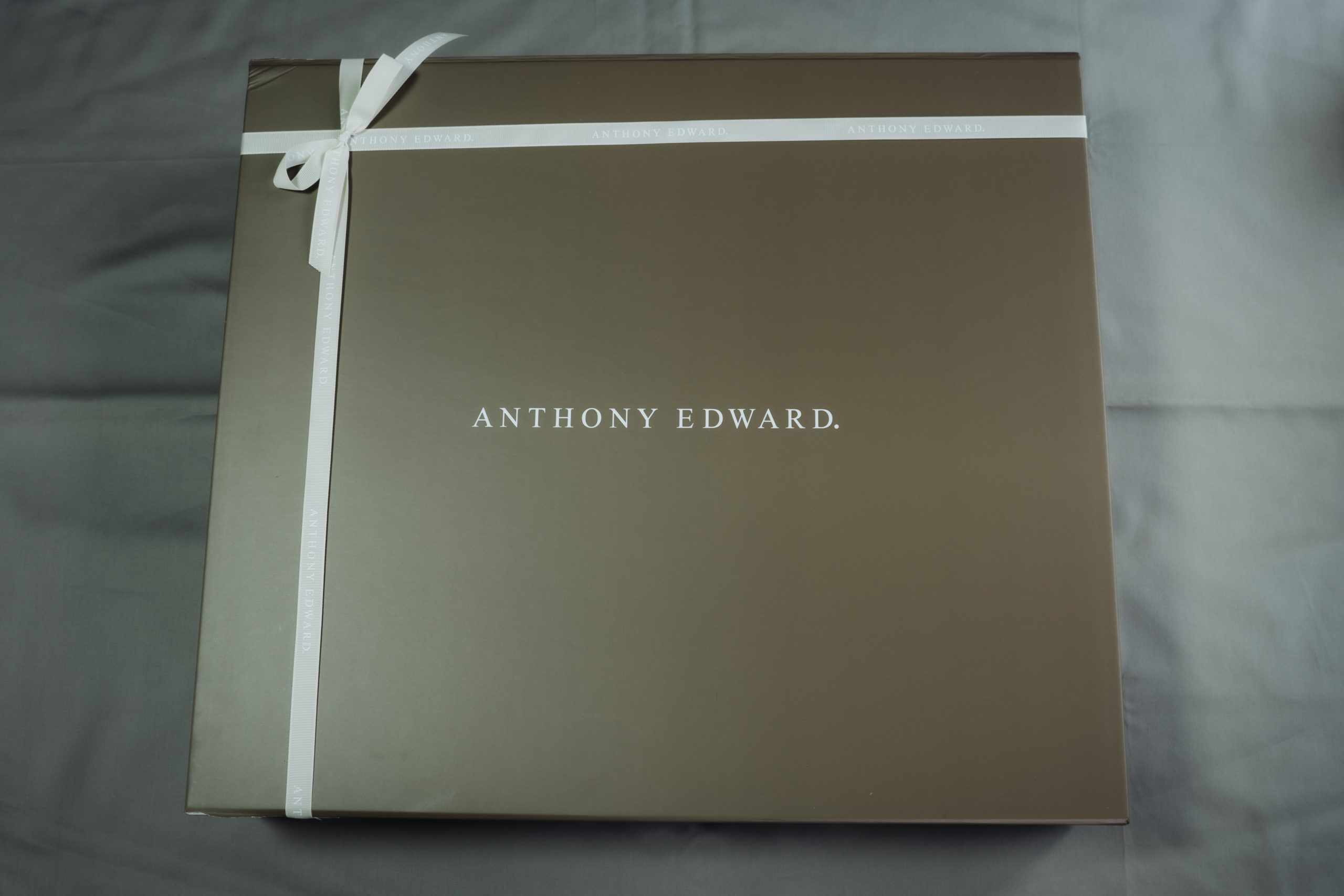 ANTHONY EDWARD ダッフルバッグの梱包