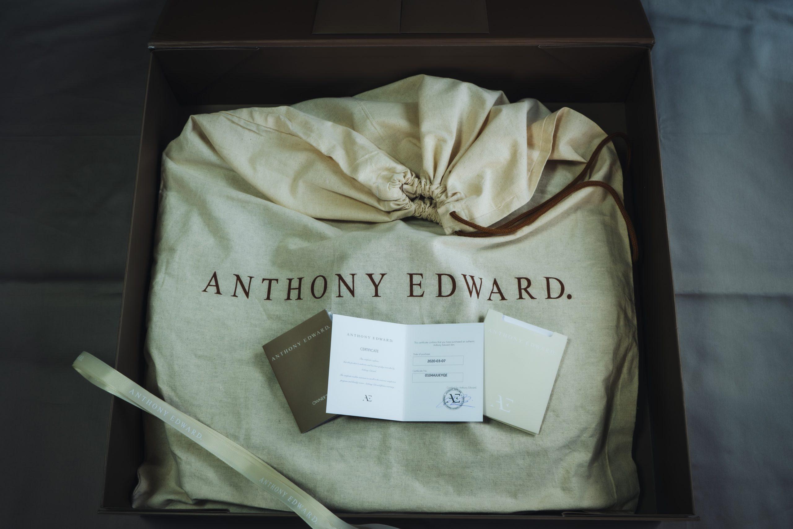 ANTHONY EDWARD ダッフルバッグを開封