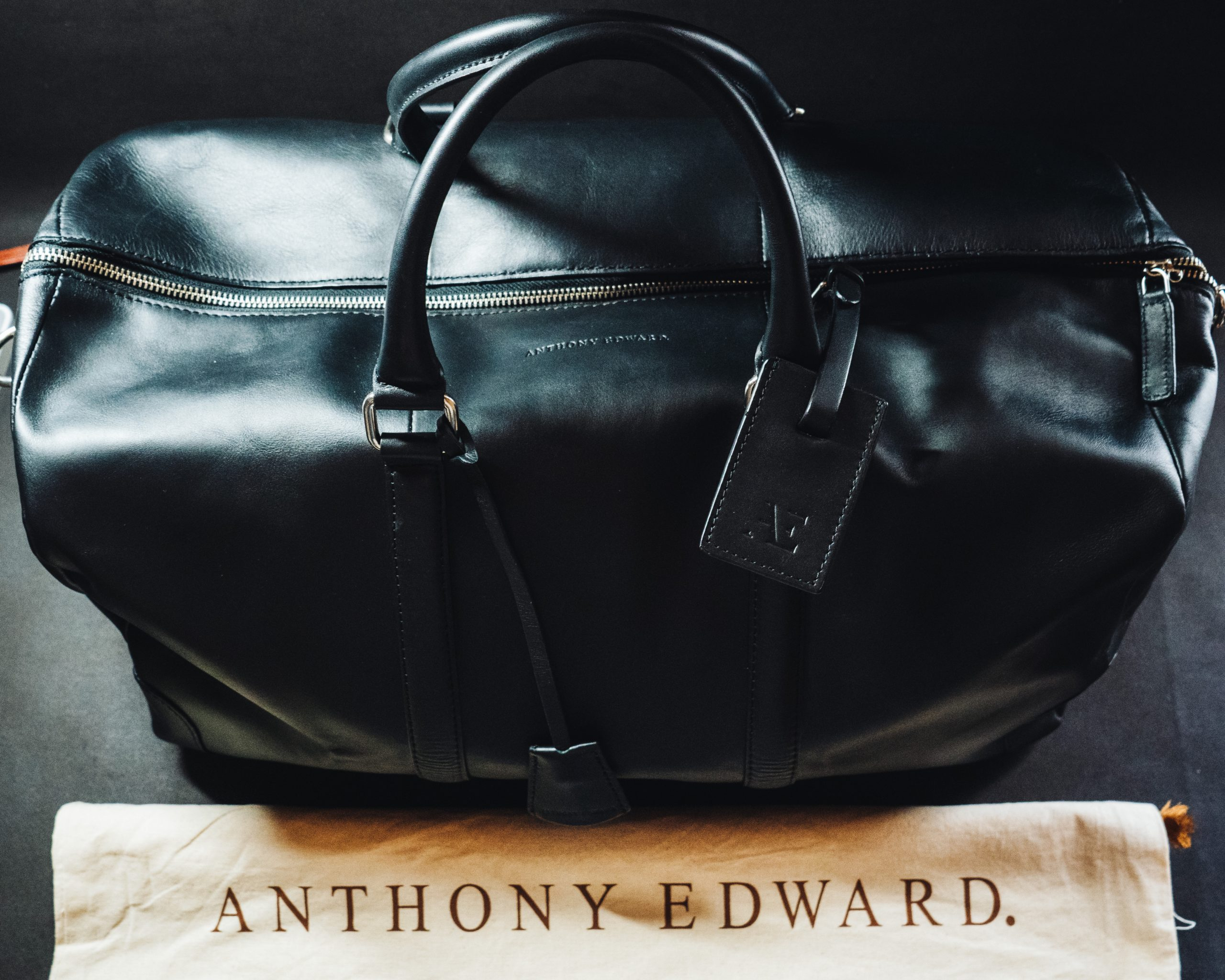 ANTHONY EDWARDのダッフルバッグを実際に使った感想
