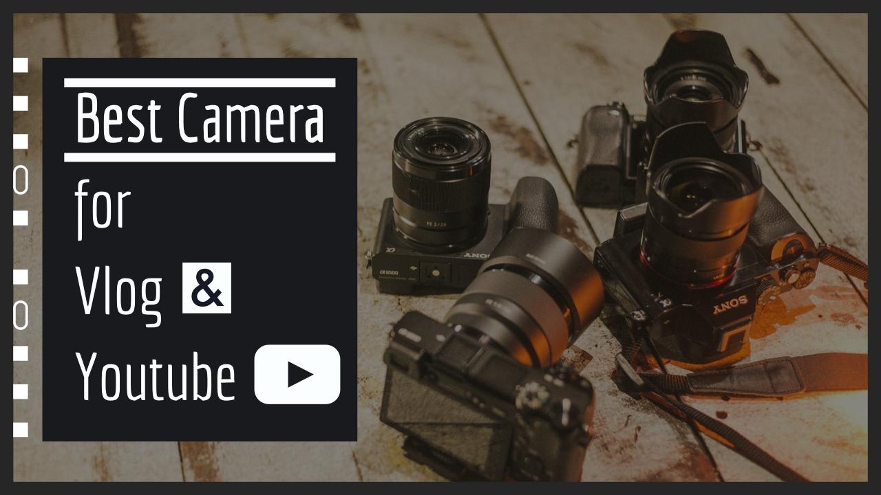 【2020年】VlogやYoutubeにおすすめなカメラの選び方【種類別の使い分けも解説】