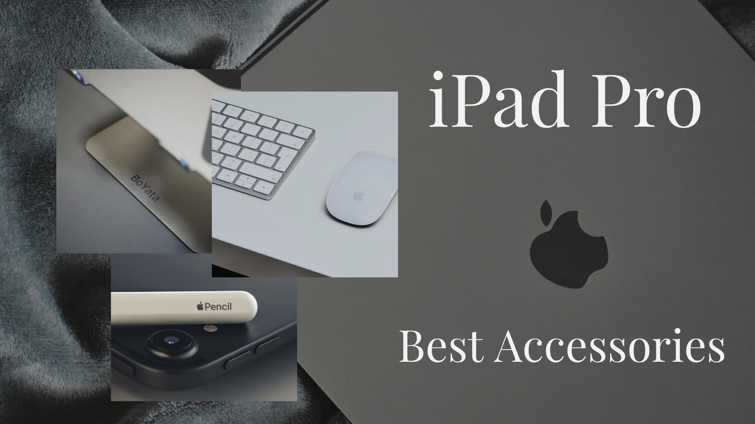 【2020年】iPad Proのおすすめアクセサリー・周辺機器まとめ!必須&あると便利なアイテムをご紹介