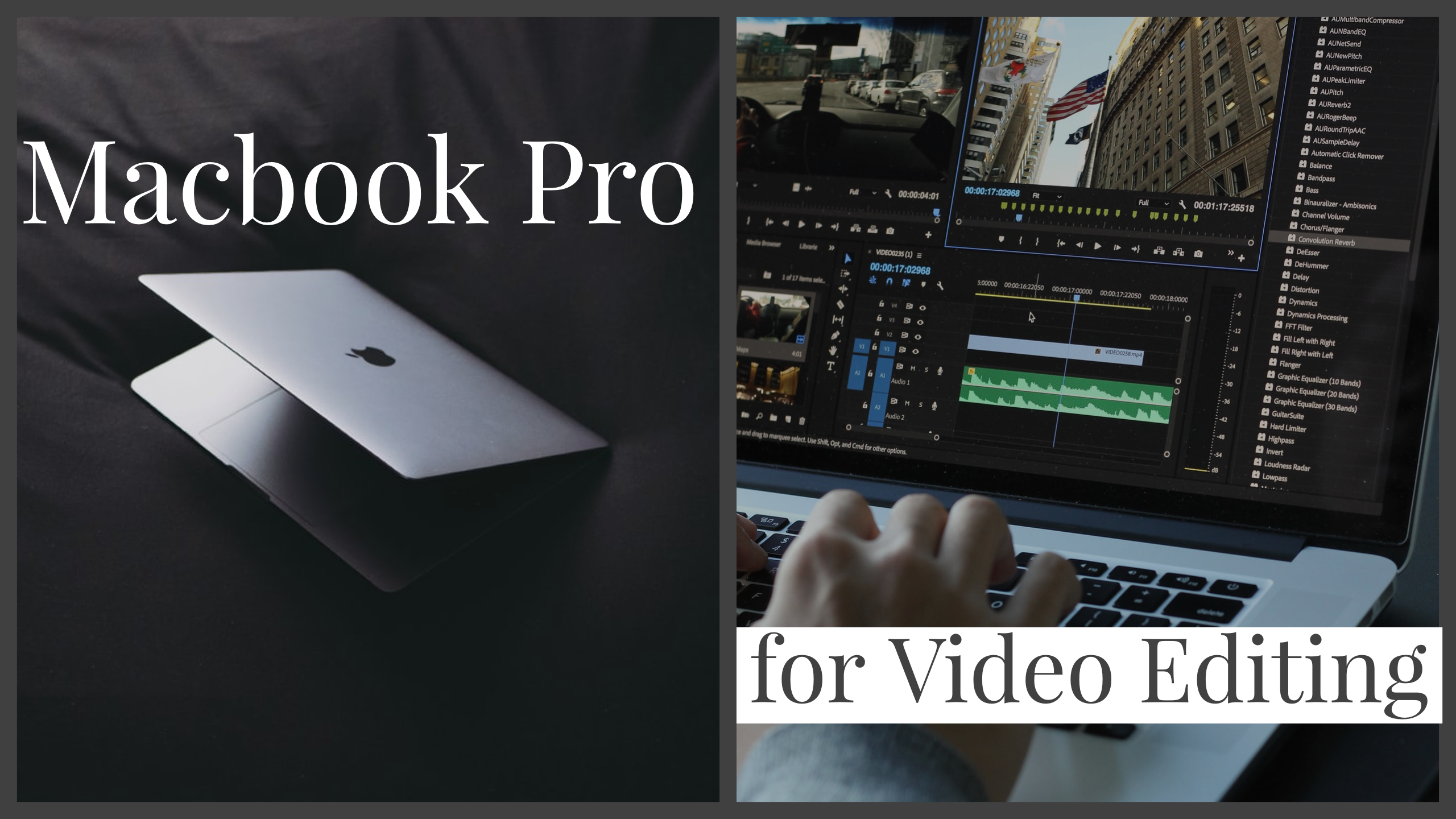 Macbook Proで動画編集を始めたい人が選ぶべきスペックや機種は?【13インチ/16インチ】