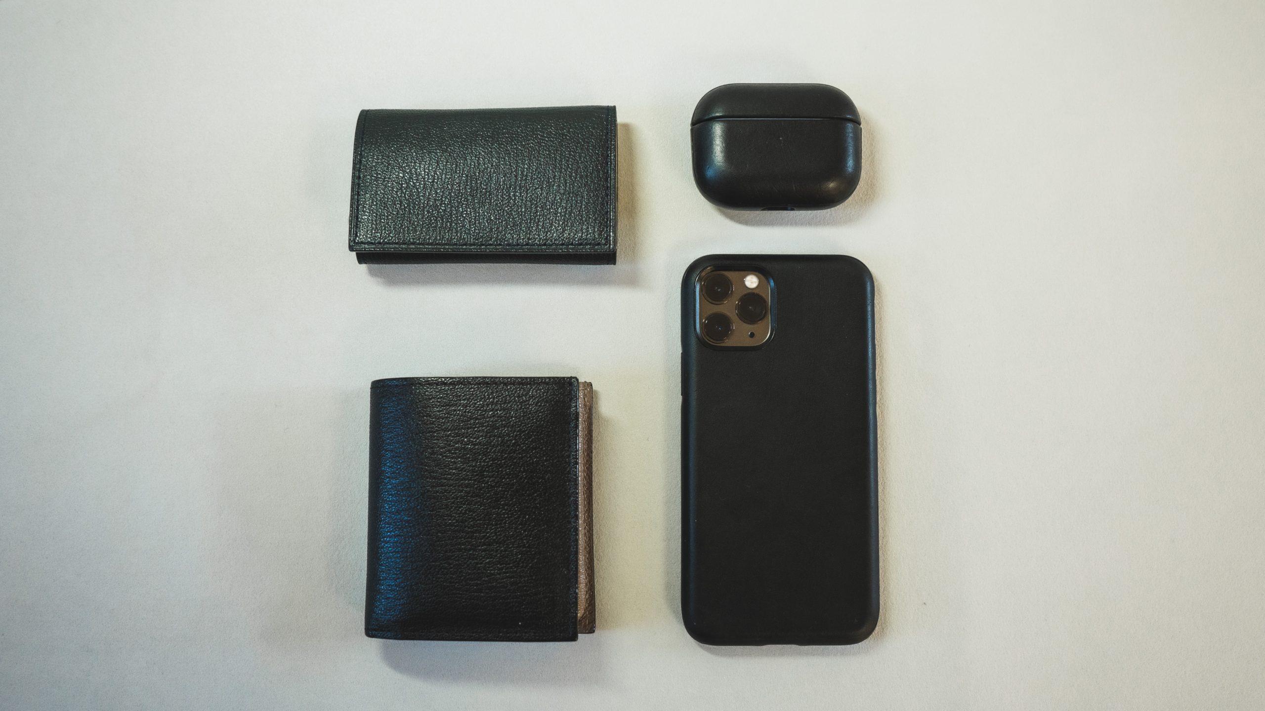 カバンの中身 ラルコバレーノの財布とキーケース 【MoNomad】