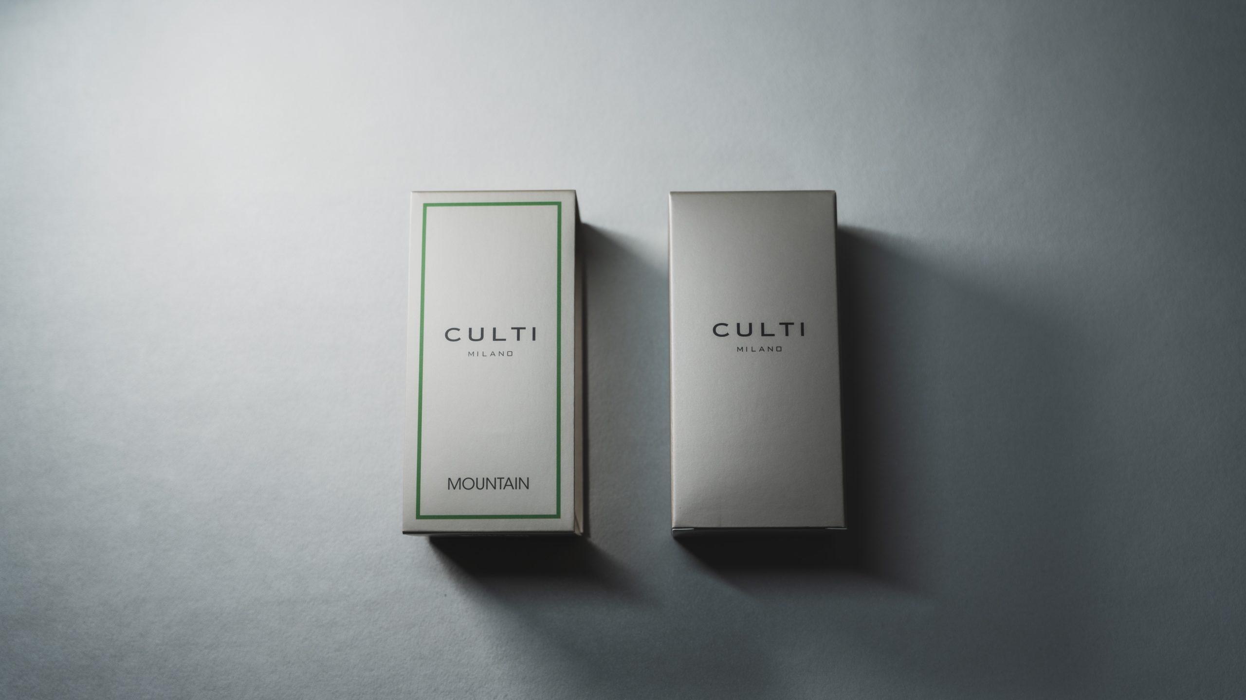 CULTI(クルティ)のルームフレグランス MOUNTAINをレビュー!開封・外箱