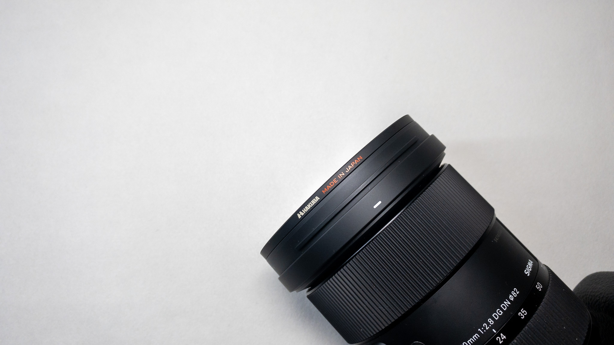 MoNomad運営者のカメラ機材|HAKUBAのレンズフィルター