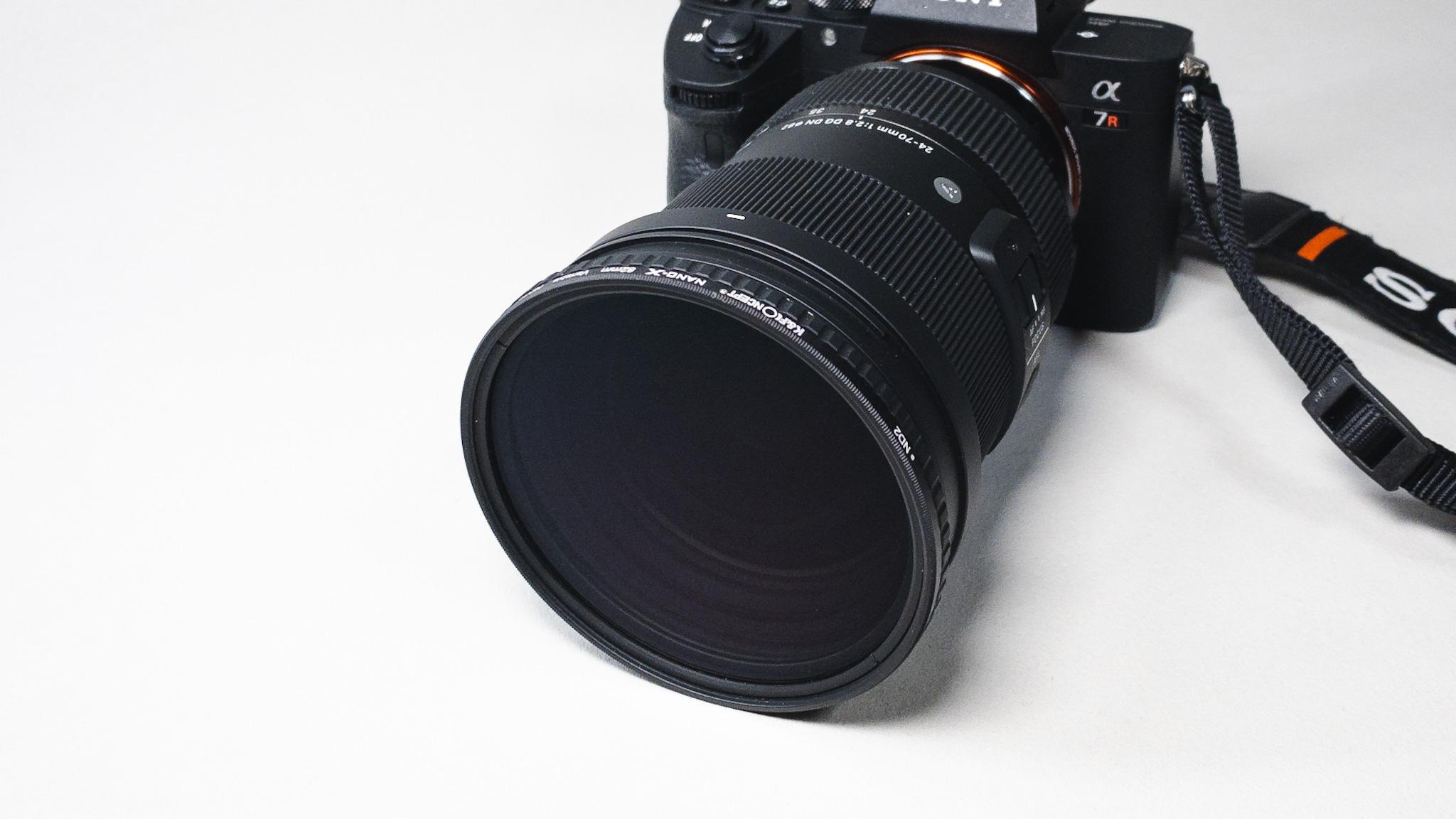 MoNomad運営者のカメラ機材|K&F ConceptのNDフィルター