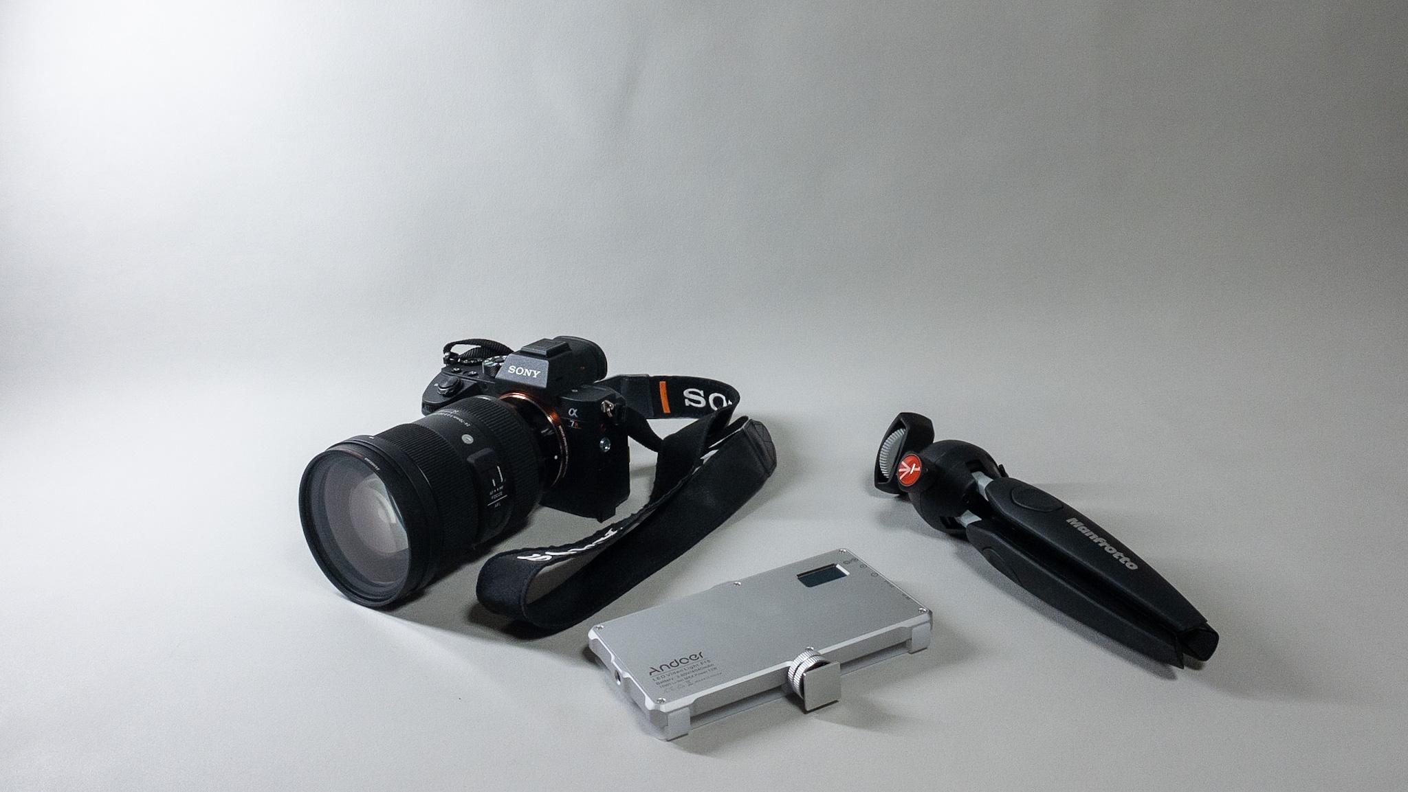 MoNomad運営者のカメラ機材|アルカンターラの背景布