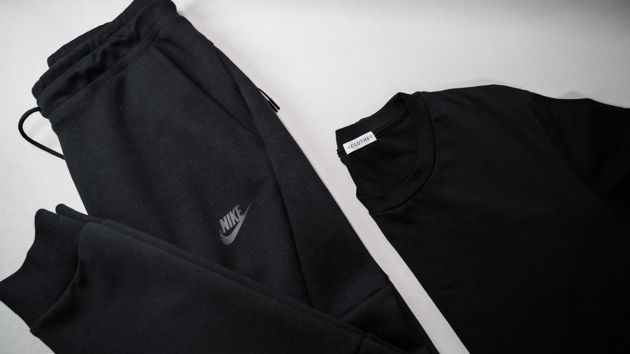 【レビュー】NIKE(ナイキ) テックフリース ジョガーパンツ クロスクローゼットのTシャツと