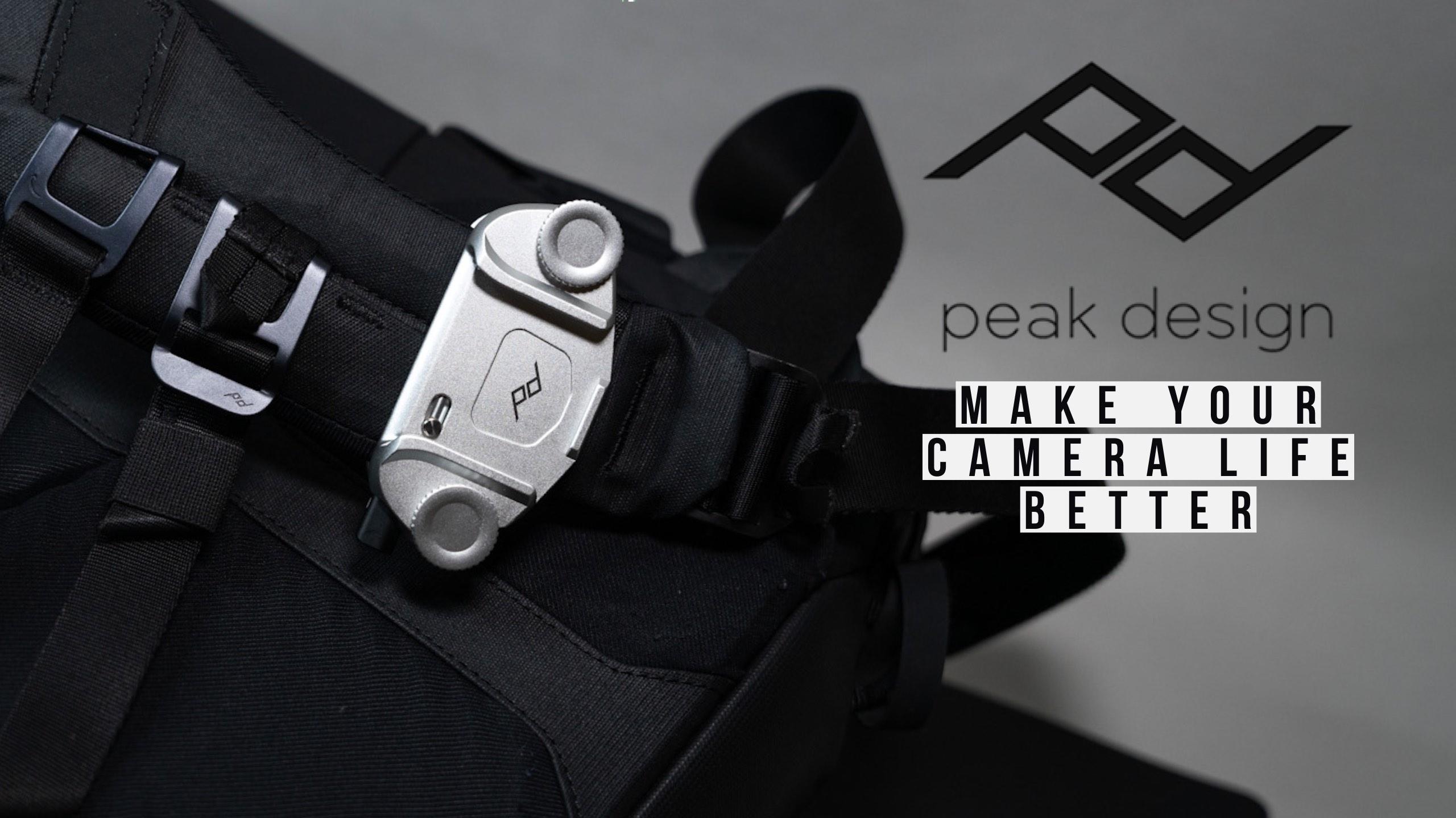 【レビュー】ピークデザイン キャプチャーV3 カメラを持って出かけたくなる便利アイテム【感想】