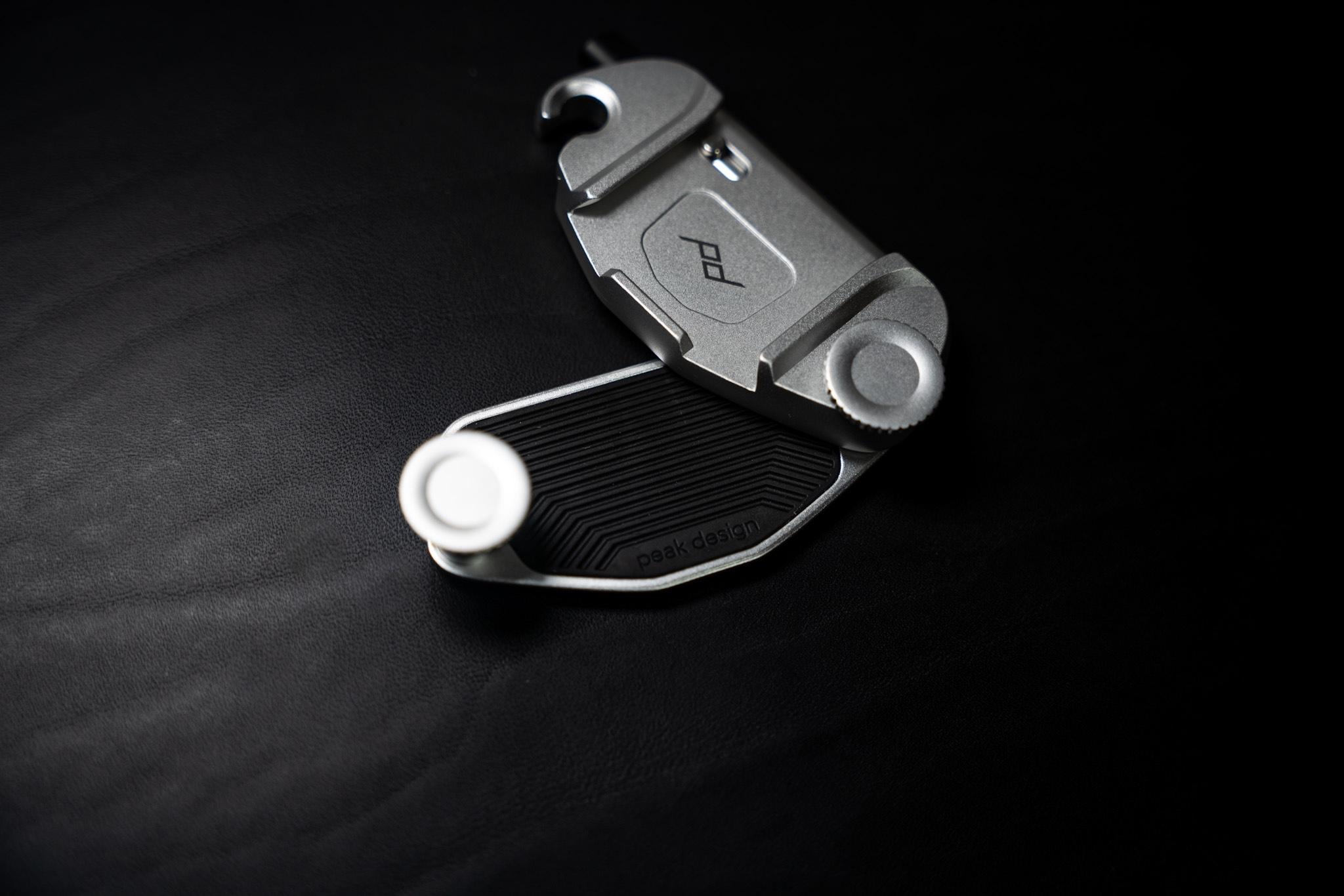 ピークデザイン キャプチャーV3|滑り止めのラバー