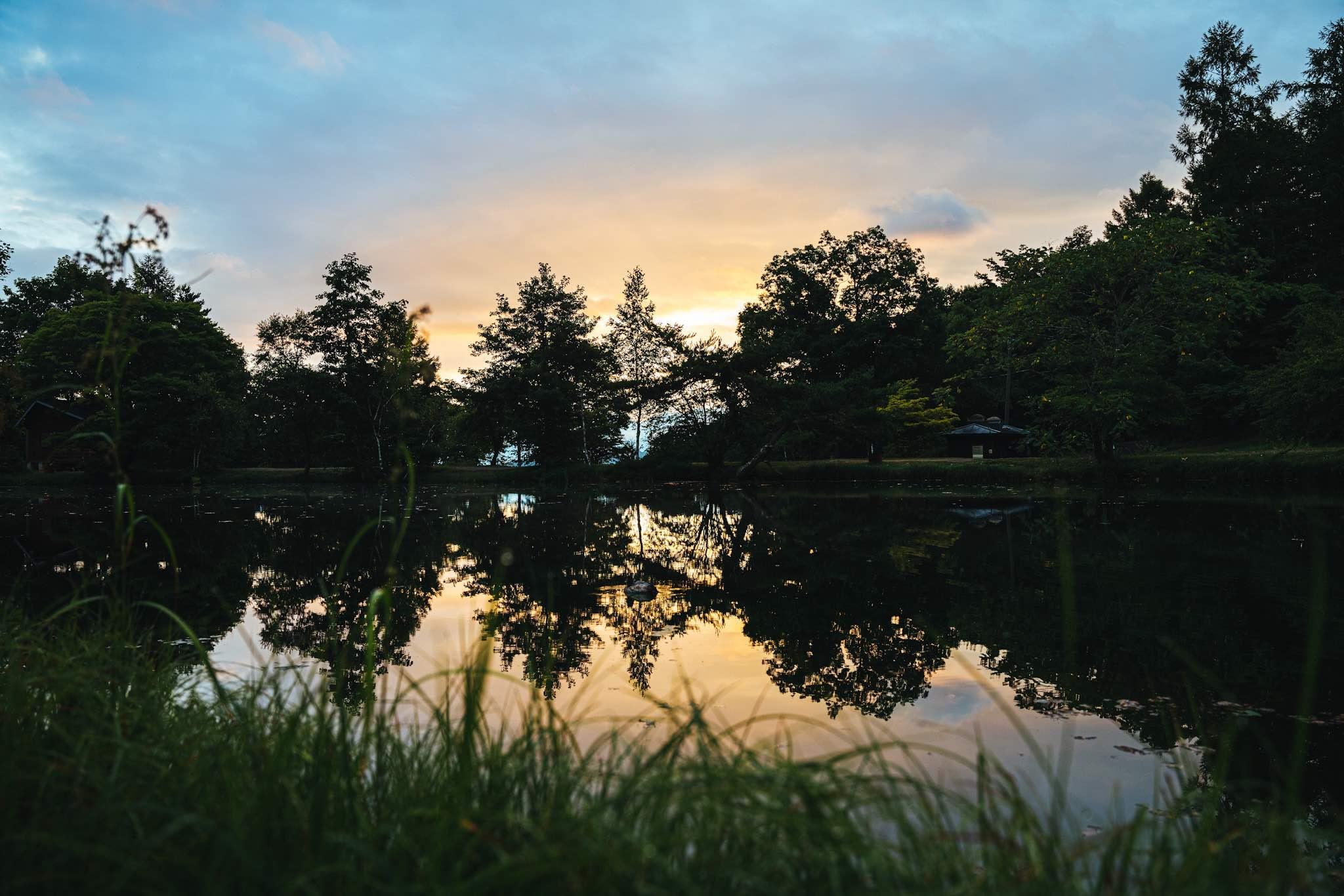 駒出池キャンプ場で念願の初キャンプ!|高原の早朝に最高のコーヒー