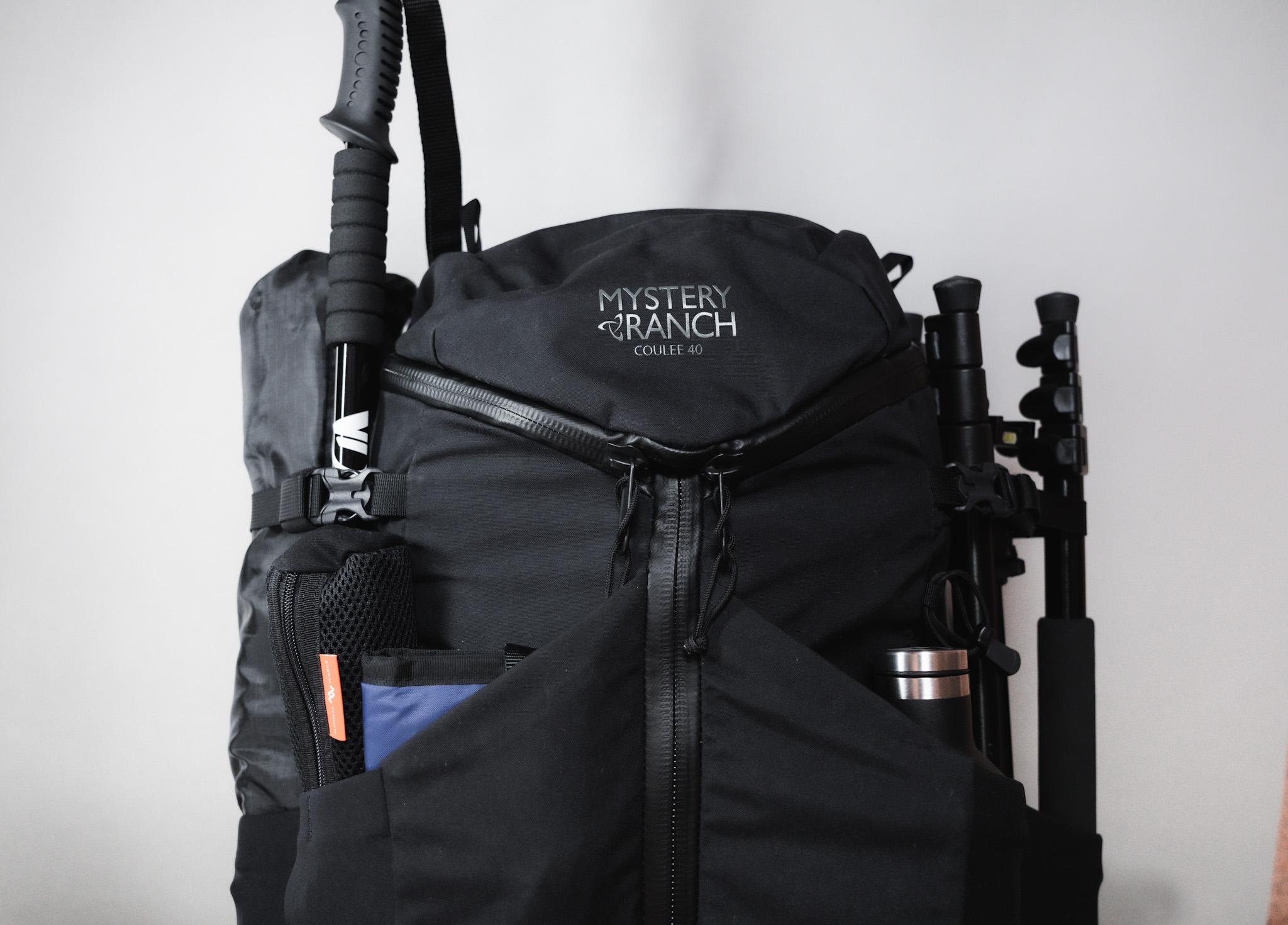 ソロキャンプにおすすめなバックパック【バランス型】|MYSTERY RANCH クーリー40