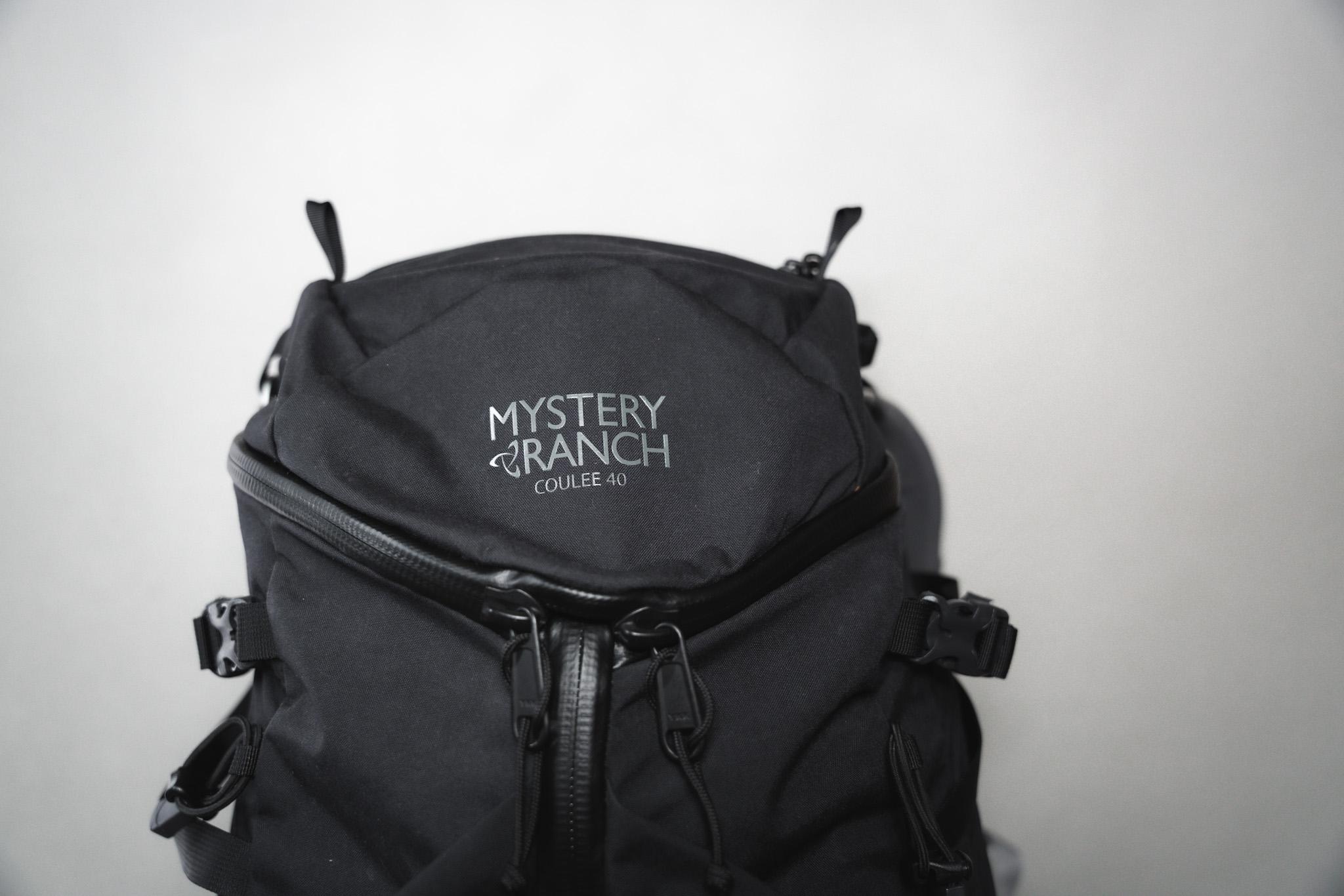 【レビュー】ミステリーランチ クーリー40|どんな人におすすめのバックパック?