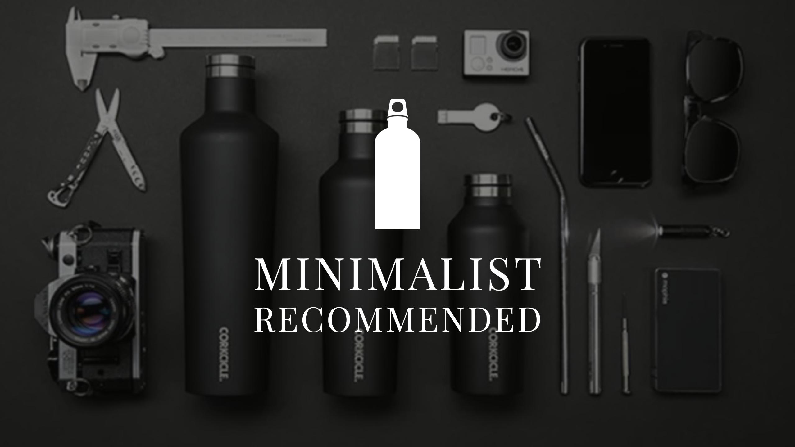 【ミニマリストにおすすめの水筒3選】マイボトルとして持つべきブランドを厳選!