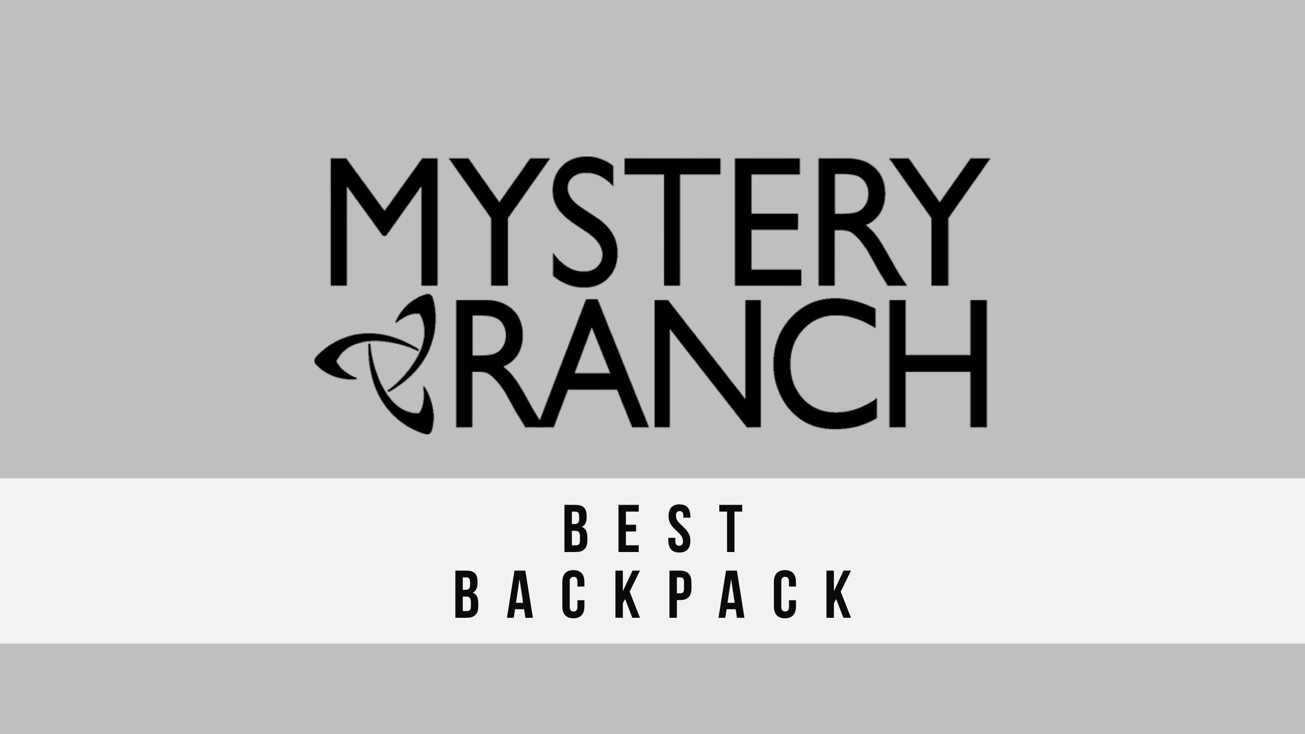 MYSTERY RANCH(ミステリーランチ) おすすめバックパックと選び方【自分にベストなリュックはどれ?】