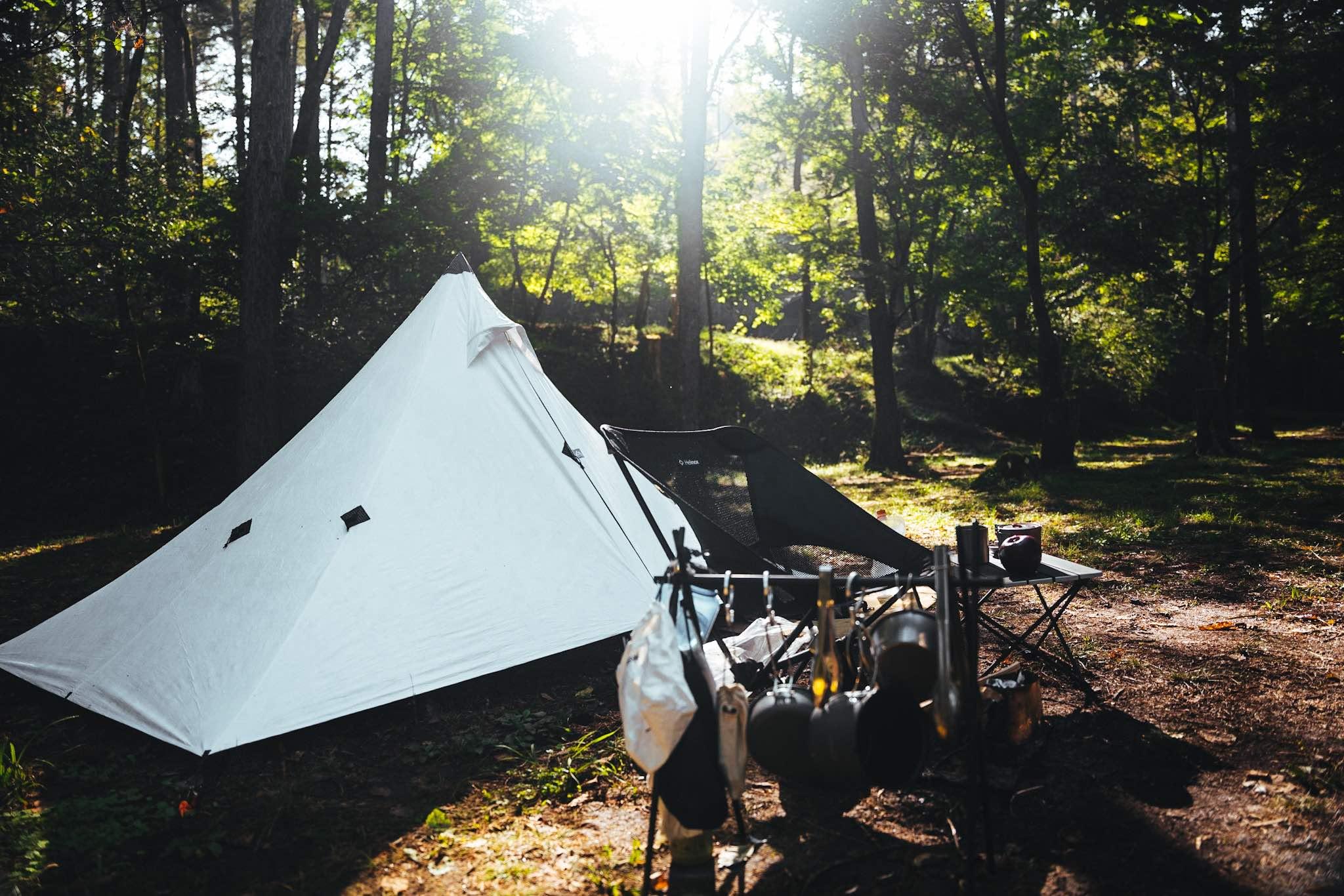 さいごに|お気に入りのテントと身軽にソロキャンプ!