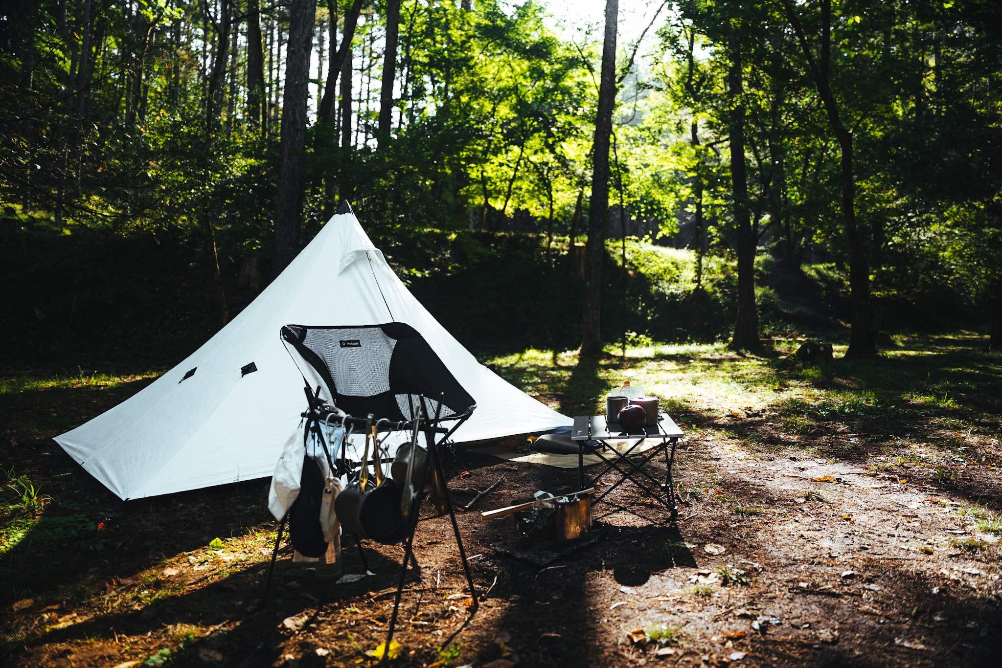 【バックパックでキャンプ】ミニマム・ULスタイルのメリット