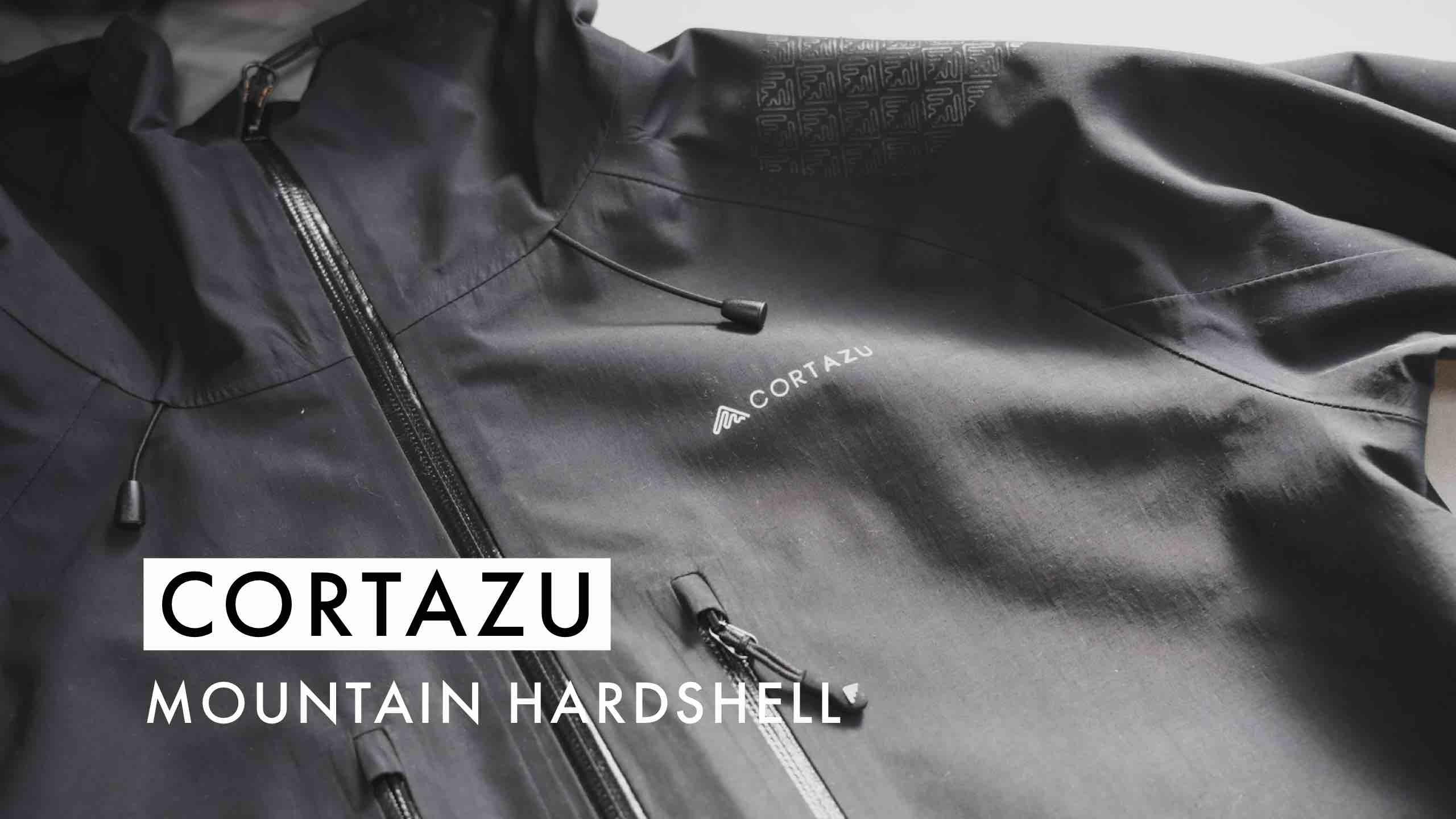 【国内最速レビュー】オランダ発!CORTAZUのハードシェルジャケットはコスパ最強でした…!