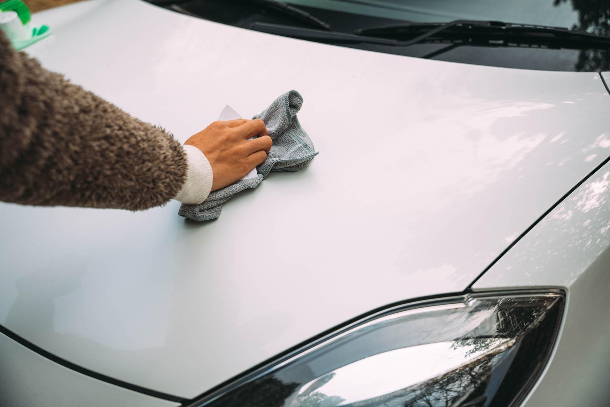 【手順】こんな流れで車を掃除します