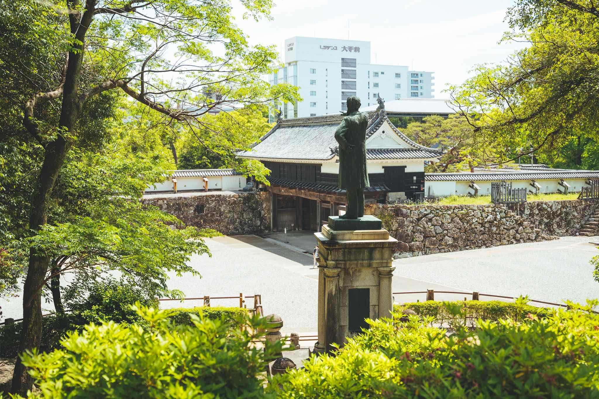 【高知日帰り旅】「気品と威厳」 国宝高知城へ