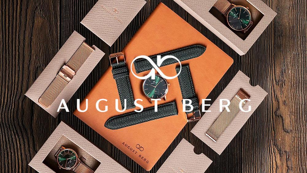 August Berg(オーガスト・バーグ) デンマーク発 楽器職人がつくるミニマル腕時計【評判・特徴】