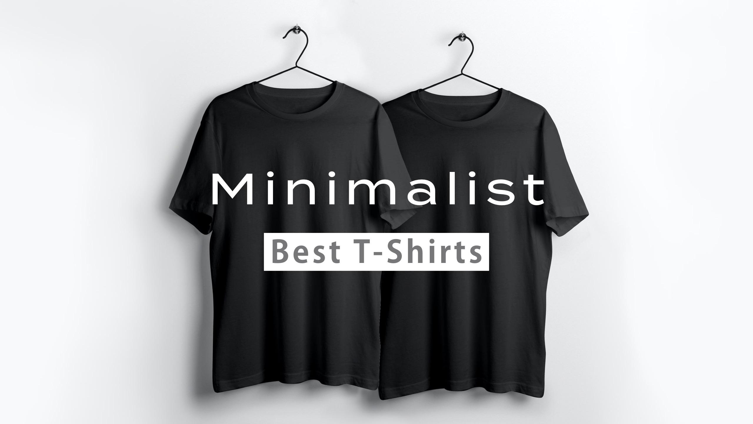 【もう迷わない】ミニマリストにおすすめのTシャツを厳選!【メンズ・無地】