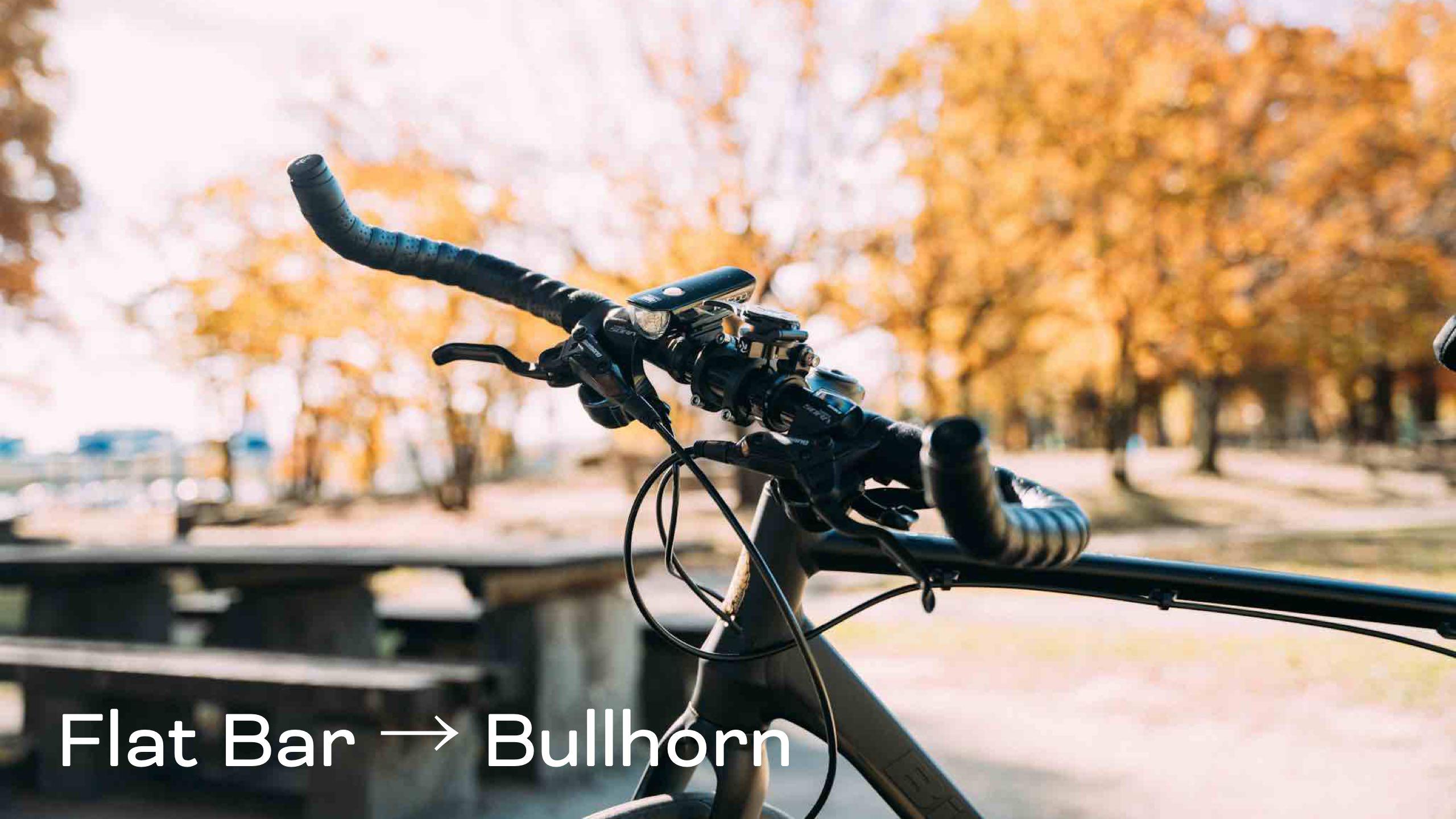 クロスバイクをブルホーン化して6ヶ月… 感想とメリットなど