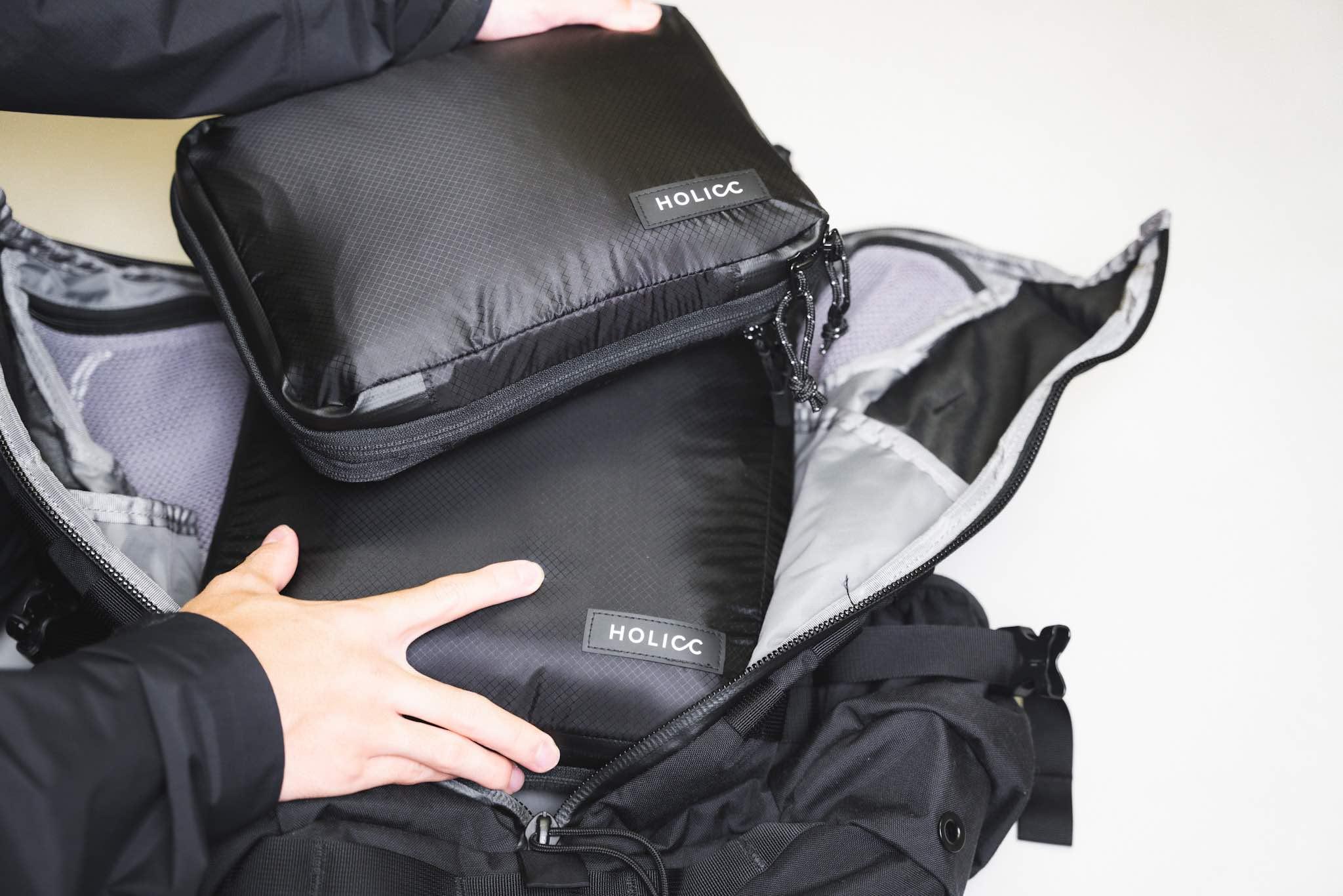 HOLICC PackBag 超実用的なのにモチベも上げてくれる逸品